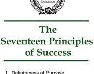 Napoleon Hill Principles