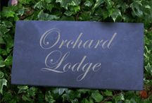 slate house signs / http://www.houseandgardenplaques.co.uk/slate-house-signs