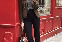 Business casuel/look bureau