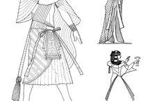 Ancient Egypt / Ancient Egyptian Fashion