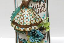 Prima doll tags/ kort