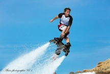 Flyboard by Jet Ski Tour in St Barth / New activity on the roster, Flyboarding, fly like a bird, fly as high as 30 feet into the air, swim like a dolphin, you'll definitely want to try this hot new sport.