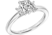 Engagement Rings: Three-Stone / Three-stone engagement rings. Looking to get engaged? Visit Radcliffe Jewelers in Baltimore, MD.
