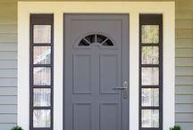 relooking porte d'entrée