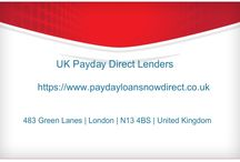 uk direct payday lenders