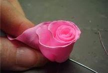 ROSE IN TESSUTO
