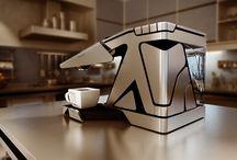 커피기구들