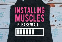 gym shirts / by Megan Strobel