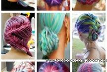 Vlasy / Účesy, barvy vlasů...