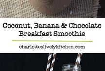 Smoothies / Chocolate banana
