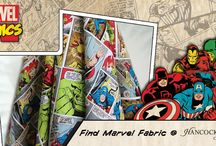 Fabric: Characters / Fantastic fabric featuring all of your favorite characters from TV, movies and more! / by Hancock Fabrics