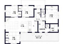 House 間取り図 / 間取り図