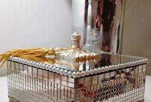 porta jóias decoradas espelhada