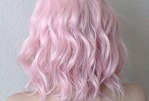 Baby pink hair