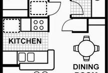 interiors - floor plans