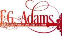 FG Adams / F.G. Adams writes contemporary and paranormal romance about sexy alpha heroes and feisty-mouthed heroines. The wonder twins forming F.G. enjoy a healthy obsession of reading that started at a young age.