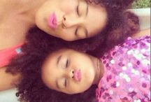 Representatividade: Mães e filhas crespas