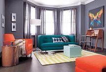 Living Room/ Playroom idea