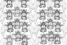 design de superfície / Artes de estamparia têxtil e design de superfície. Artes manuais, em alta resolução, originais e autorais, exclusivas. www.emanuellascoz.com