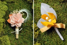 Boutonniere / by Meline - Crafty Peachy Bunny