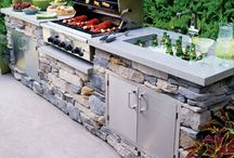 Outdoor Grill Space