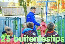 Natuurtuin nieuwe school/buitenlessen