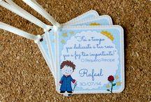 Festas O Pequeno Príncipe / Papelarias produzidas pela Tuty com o tema O Pequeno Príncipe