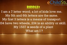 Riddle# / Riddles