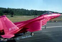 Rainbow jets / Colourful jets