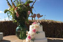 wedding cake inspiratie / bruidstaarten