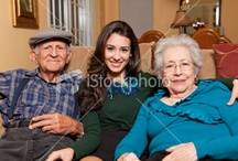 with grandparents / by Anna Couturier
