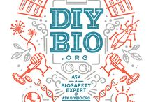 GROW.bio - DIYbio, bio-hacking, process oriented with big visual logos/titles
