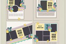 {Picture Perfect 85-88} Digital Scrapbook Templates by Aprilisa Designs