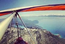 Paragliding at Lake Tahoe