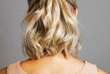 Só cabelos!