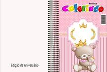 Ursinha Princesa Rosa / Kit Digital