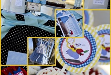 Alice in wonderland birthday theme
