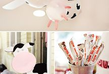 Cow themed party