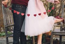 Valentine's Photo Shoot / Posing and creative backdrop ideas for a great Valentine's Day photo shoot!