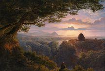 Пейзаж в живописи Романтизма