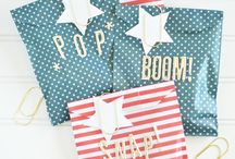 Patriotic Decorations / Find awesome red, white, and blue inspriation for parties, decor, and more.