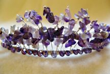 tiara's / Tiaras and headbands made by Sue at www.littlebeader.com