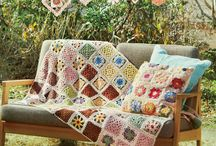 CROCHET: Felissimo flower blanket
