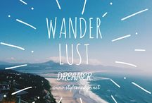 { Wanderlust } / My bucket list in a pinterest board, I must see all of these places before I die.