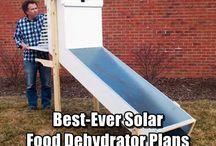 solární sušička