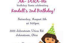 Dora Birthday Ideas