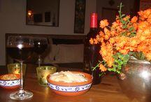 Uit en thuis eten en drinken / foto´s van culinaire uitspattingen...uit en thuis.