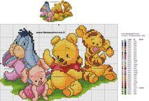 Disney Winnie Puh Cross Stitch