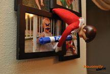 Elf on a shelf / by Jennifer Verjinski-Jarrett