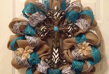 Wreath ideas / by Brandy Matthews